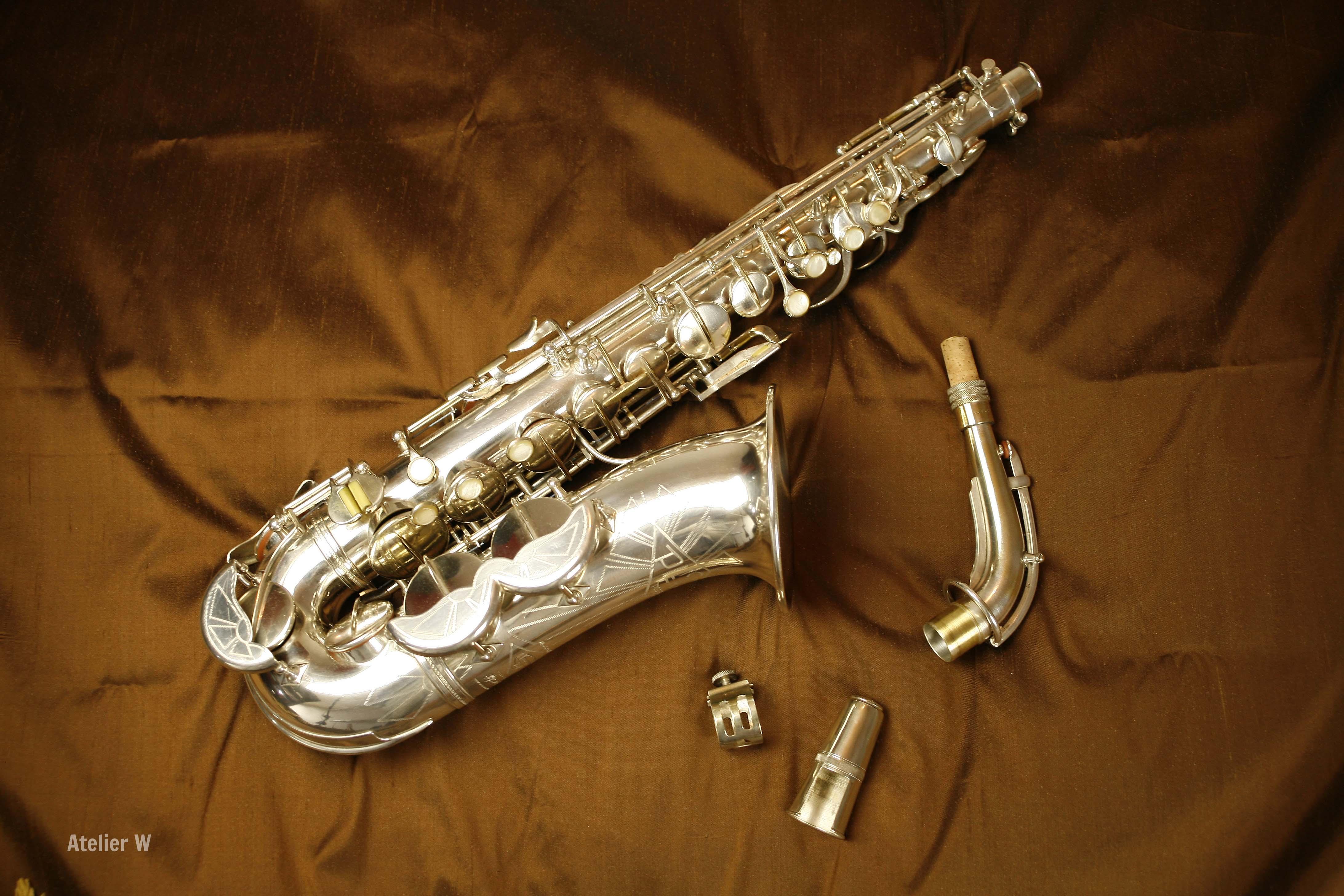 Saxophone Alto Pierret modèle n°6: vendu