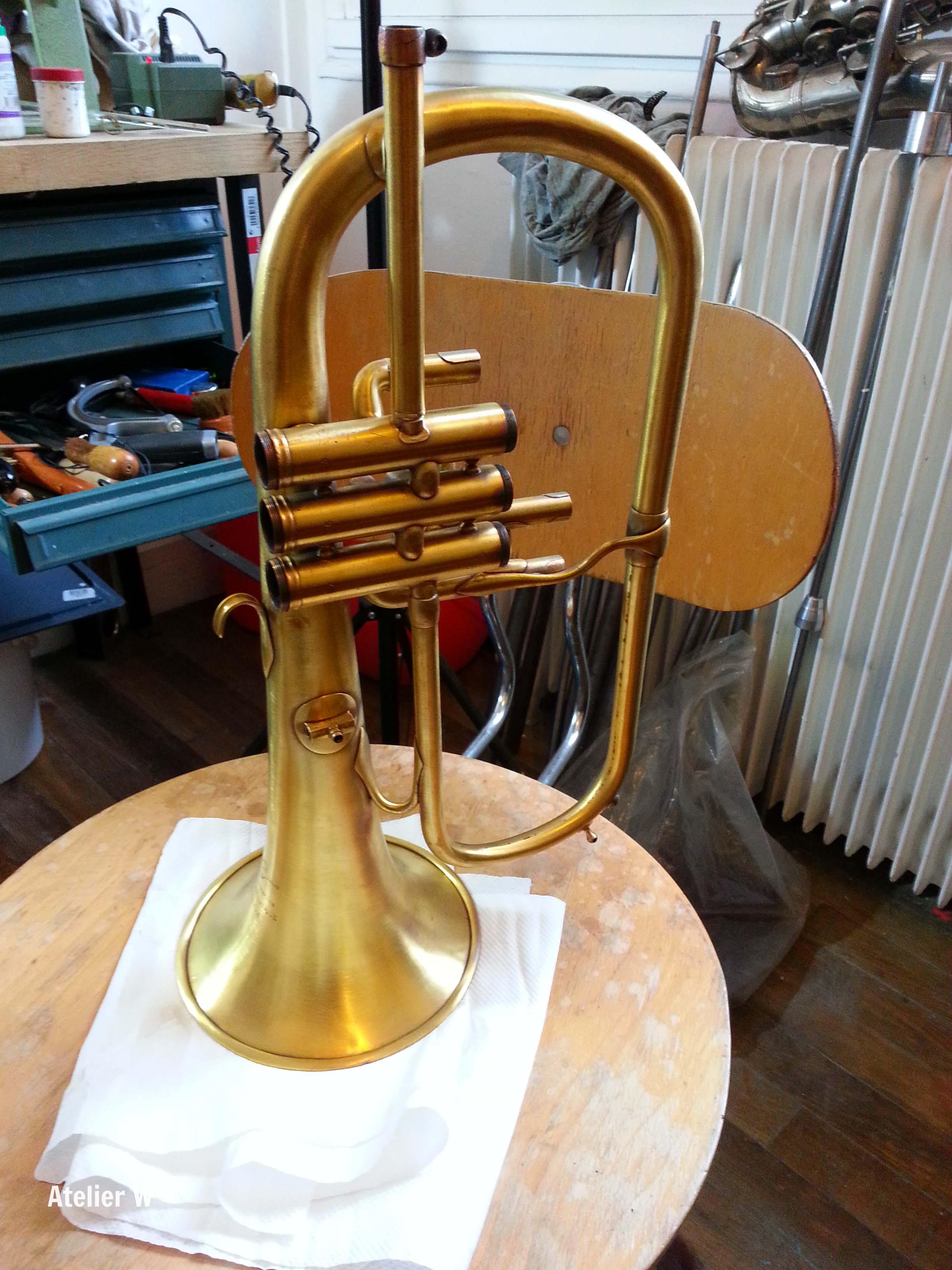 Restauration d'un bugle Union Artistique Genève