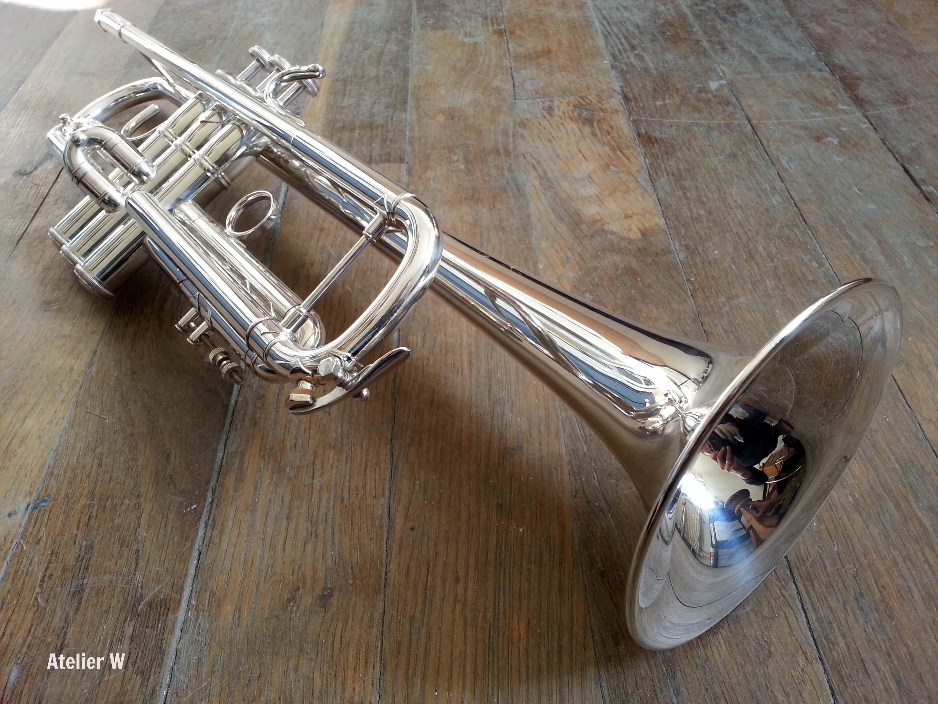 Trompette Sib Bach Stradivarius modèle 72 ML: 1400€