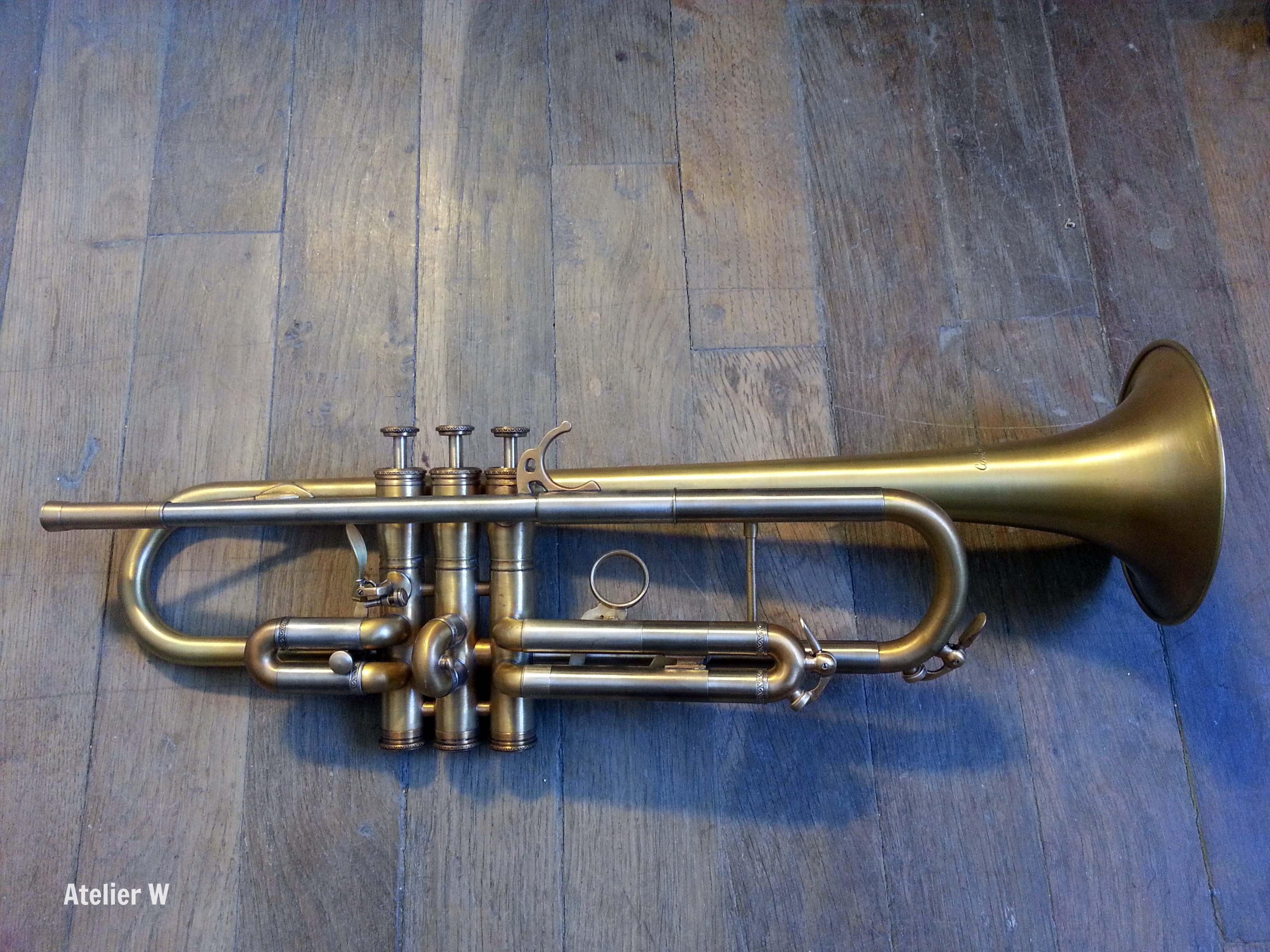 Patine sur trompette Antoine Courtois