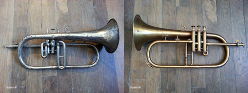 Restauration d'un bugle Margueritat