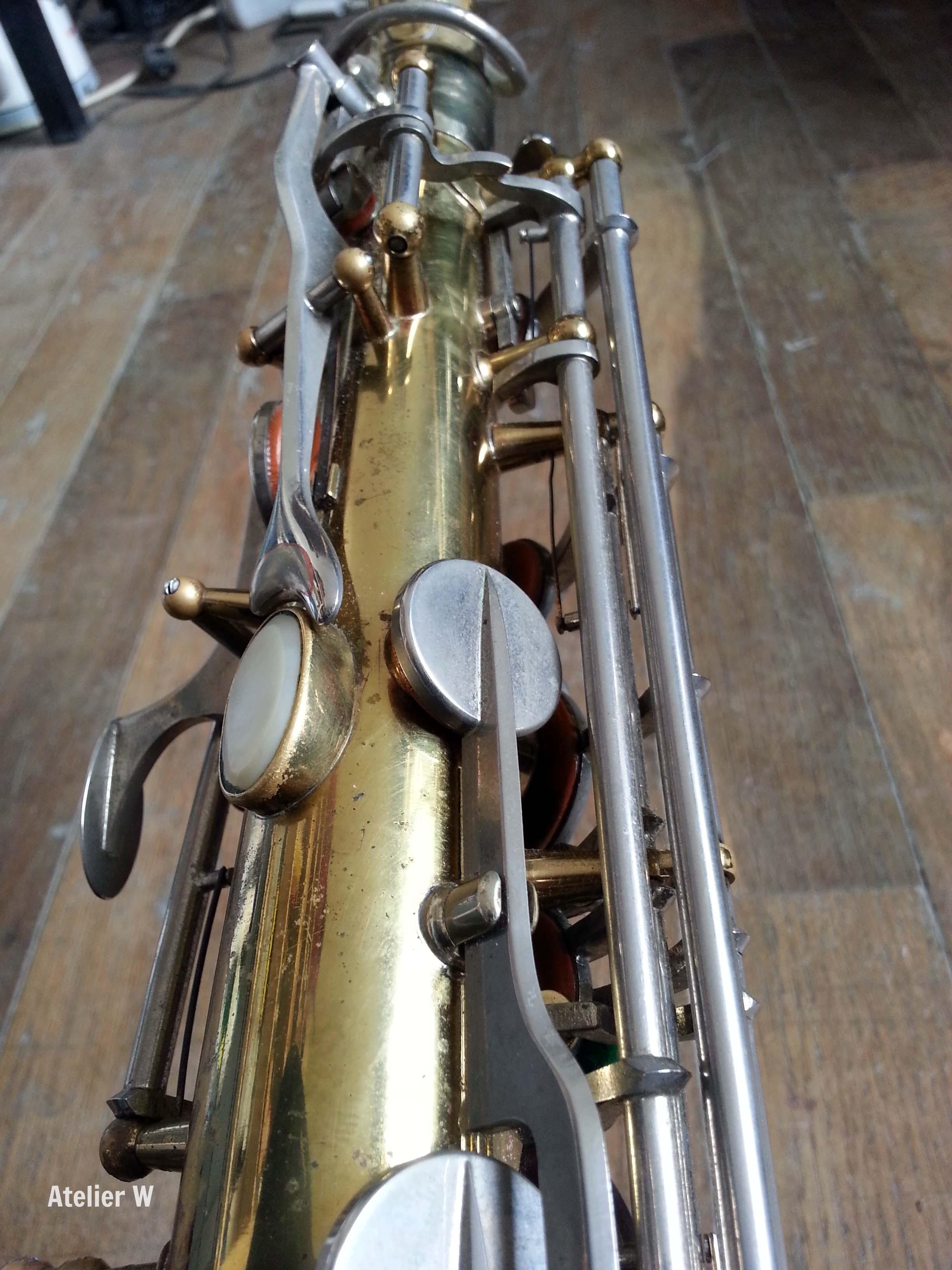 "Saxophone alto Leblanc avec clétage ""système Leblanc""!"