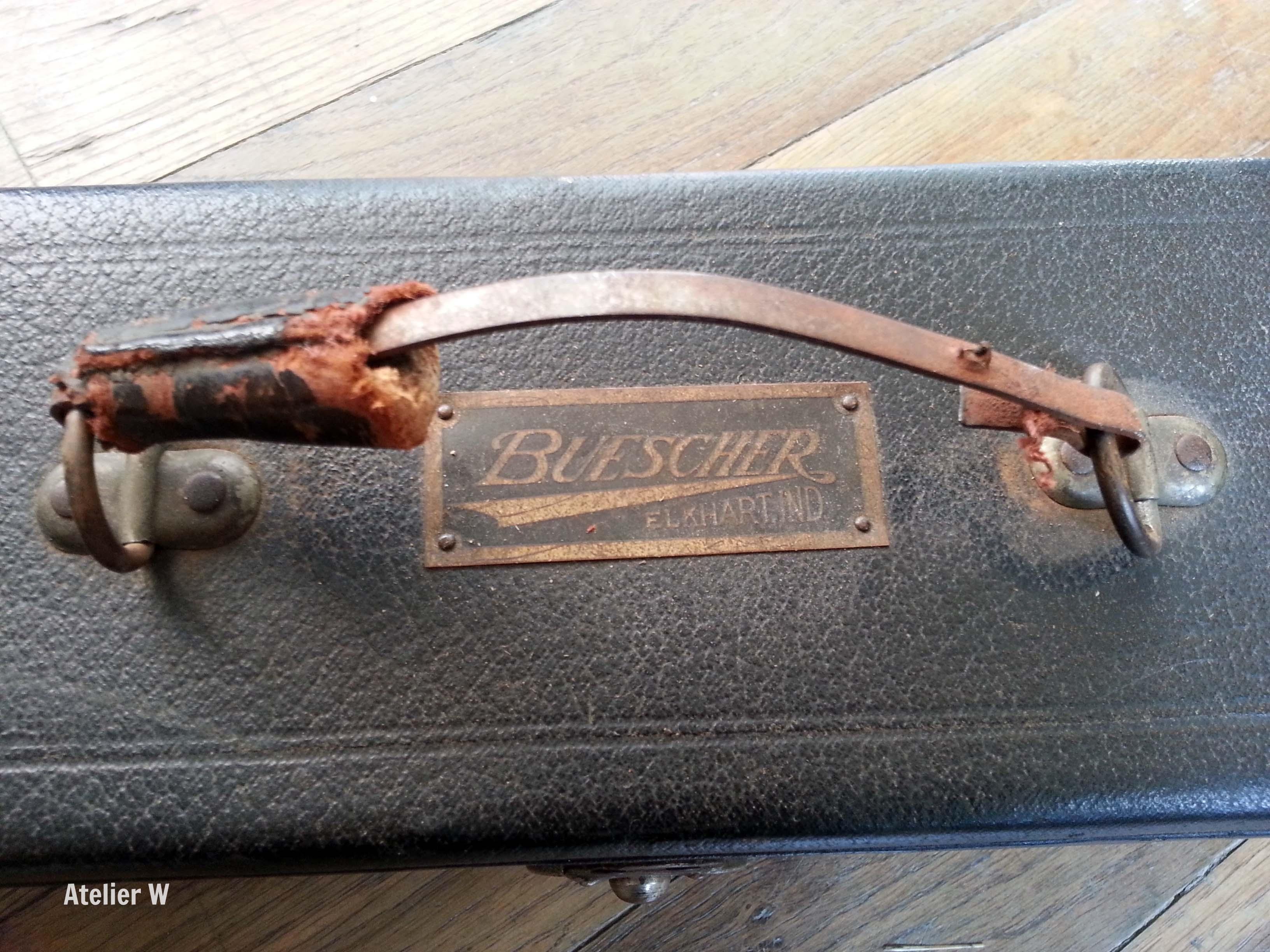 Soprano Buescher True Tone 1924: le dernier instrument de Sidney Bechet!