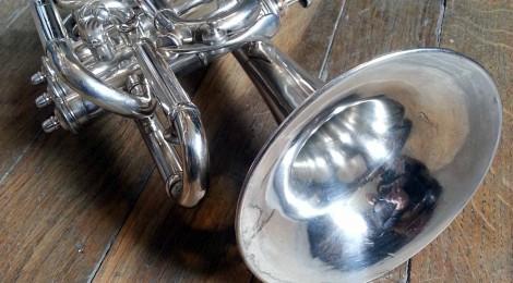 Restauration d'un cornet Louis Dubois (Courtois)
