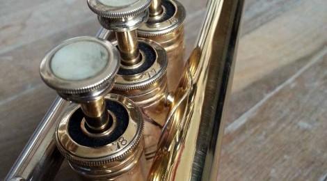 "Trompette Selmer ""pre-K-Modified"" 24B 1953: restauration des pistons"