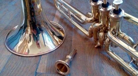 Restauration trombone à pistons Couesnon