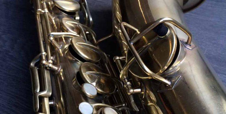 Dénickelage d'un saxophone ténor Conn New Wonder Series I