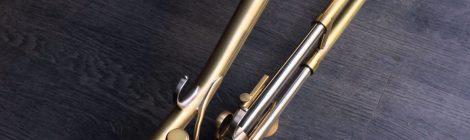 Fabrication d'une trompette à coulisse