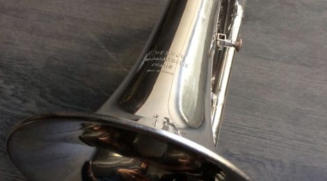 Occasion: bugle Couesnon nickelé années 60