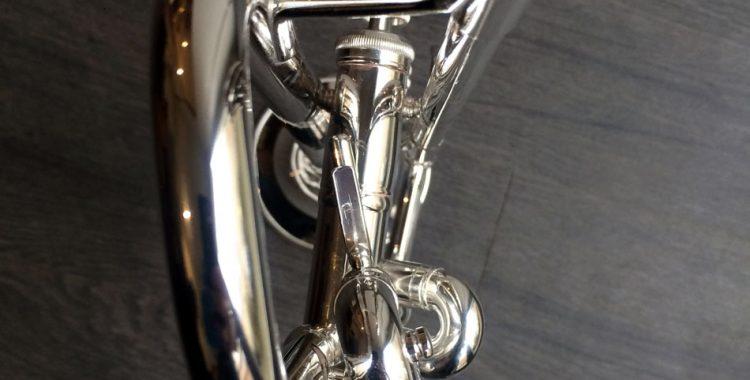 Argenture sur trompette Bach Stradivarius modèle 37