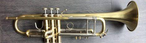 Occasion: trompette Bach Stradivarius Model 37