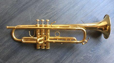 Occasion: trompette Bach Stradivarius 72L plaquée or