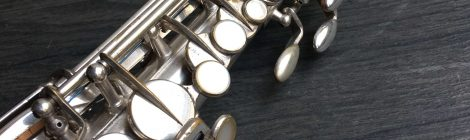 Occasion: soprano Selmer New Large Bore 1929