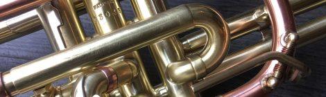 Occasion: cornet long Getzen Tone Balanced Super Deluxe
