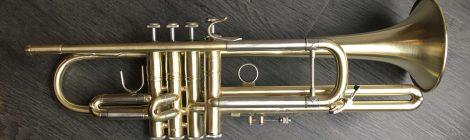 Ajout d'un 4e piston sur trompette Bach Model 37