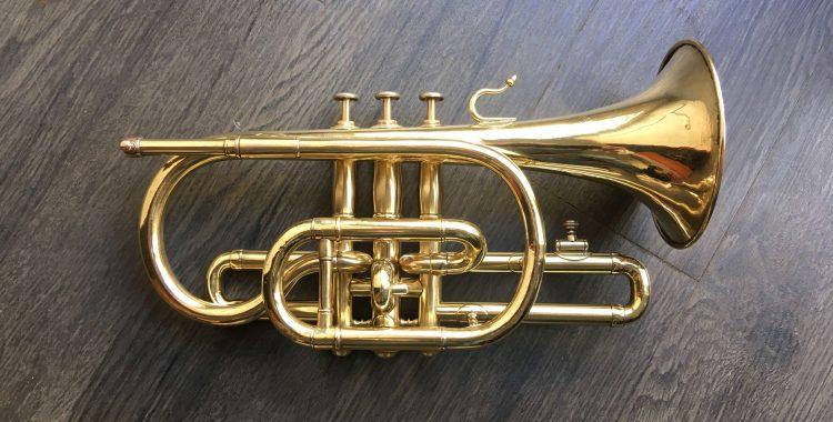 Restauration cornet Gautrot Breveté fin 19e